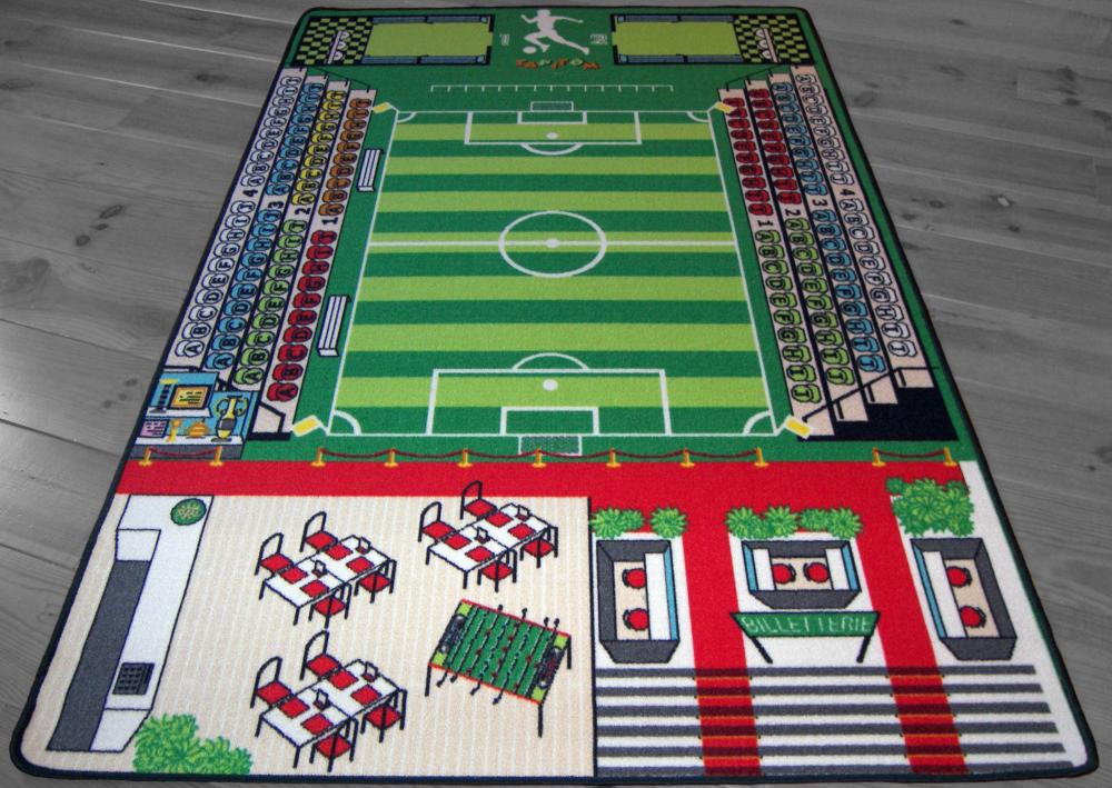 tapitom tapis pour enfant football 130 x 200 cm. Black Bedroom Furniture Sets. Home Design Ideas