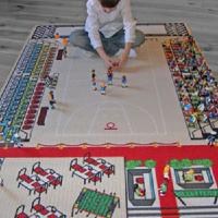 Tapis enfant  basket ball - 130 x 200 cm