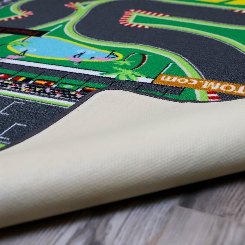 tapitom tapis jeu circuit de voiture fourmule1 f1 130 x 200 cm. Black Bedroom Furniture Sets. Home Design Ideas