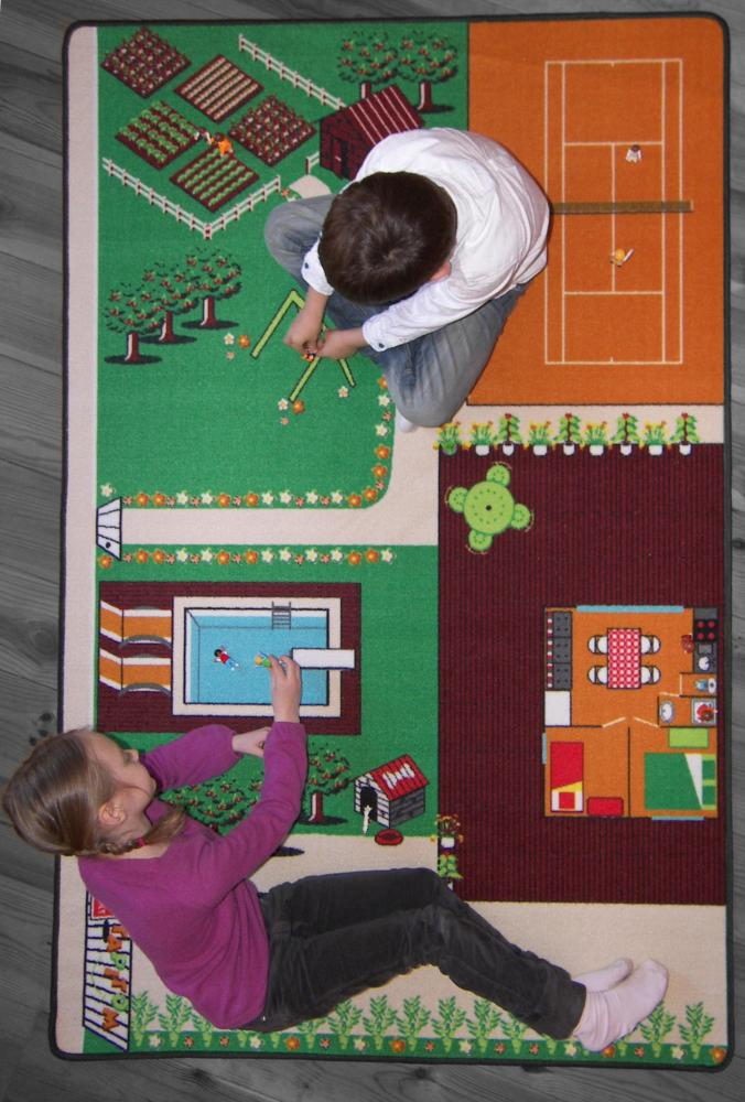 tapitom tapis de jeu jardin 130 x 200 cm. Black Bedroom Furniture Sets. Home Design Ideas