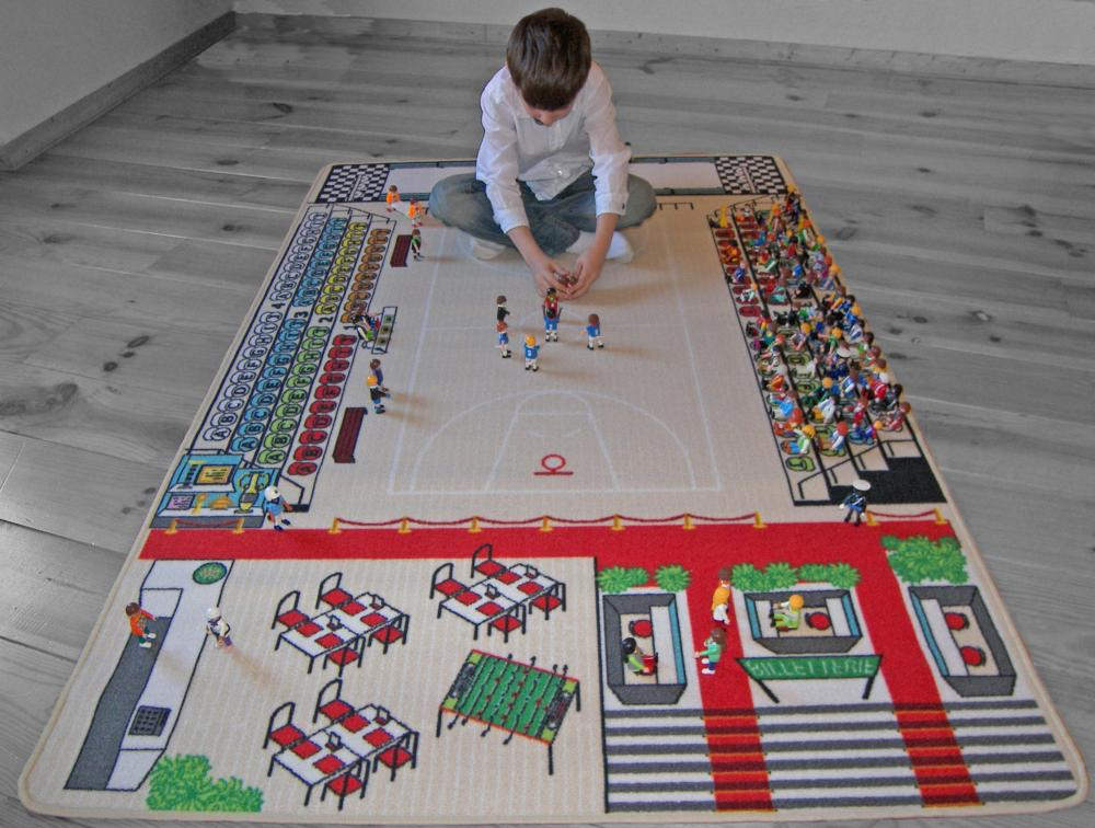 Tapitom tapis enfant basket ball 130 x 200 cm for Jeu maison du monde